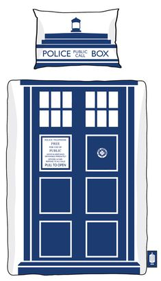 Official Doctor Who Tardis Single / Double Duvet Sets – Merchandise Guide - The Doctor Who Site