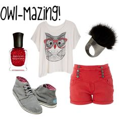 Owl-Mazing @Hannah Hudson like the owl shirt you tried on at Body C!! :D