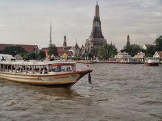 My Krung Thep กรุงเทพฯ (Bangkok): Bangkok by boat - Chao Phraya Express and Khlong Boats