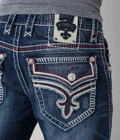 ( ˘ ³˘)♥( ˘ ³˘)♥( ˘ ³˘)♥ Rock Revival Rowell Straight Jean - Men's Jeans | Buckle
