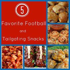 Confessions of a Semi-Domesticated Mama: 5 Favorite Football & Tailgate Snacks