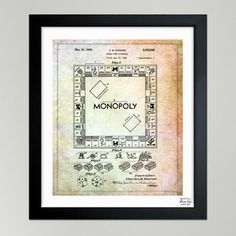 Monopoly 1935, $95, now featured on Fab.