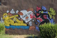 World travel blog by Päivi & Santeri Kannisto: Top Picks of Tbilisi´s Street Art and Lamb Graffit...