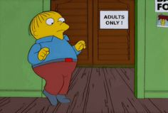 """When he went behind the curtain, so to speak. 