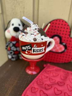 Valentine Day Crafts, Valentine Decorations, Valentines, Santa Cookies, Christmas Cookies, Chocolate Lovers, Chocolate Kisses, Valentine Chocolate, Crafty Projects