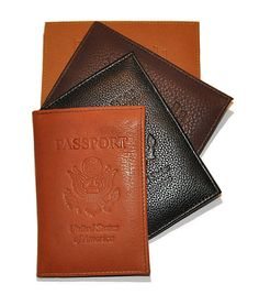 Leather Passport Hol