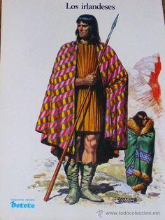 HISTORIA DEL TRAJE- LOS IRLANDESES - PÁGINA COLECCIONABLE REVISTA PETETE…