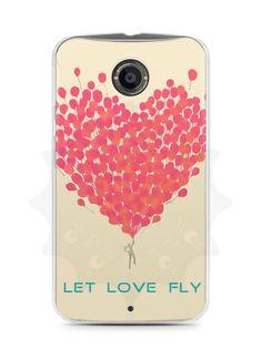Capa Capinha Moto X2 Deixe o Amor Voar - SmartCases - Acessórios para celulares e tablets :)