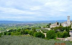 A day trip to Assisi.