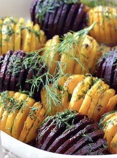 This Year's Thanksgiving Trend: Let's Hasselback Everything via @PureWow