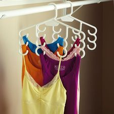 Multi-Purpose Hangers #HouseholdOrganization #OrganizationIdeas