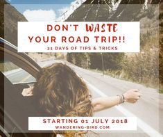 This list is AMAZING! 21 days of tips to help you plan the perfect road trip. Loads of info and ideas to give you everything you need to know Road Trip Checklist, Road Trip Planner, Road Trip Essentials, Travel Checklist, Travel Planner, Road Trip Packing, Road Trip Europe, Europe Travel Tips, Best Road Trip Songs