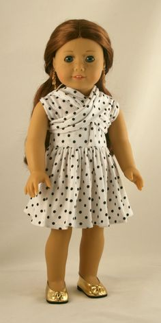 """18"""" Doll Clothes fits American Girl - Original Infinity Dress"""