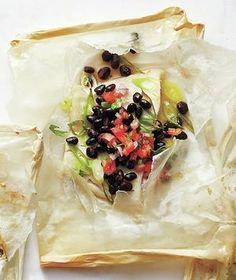 Black Bean and Scallion Fish Packets