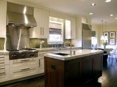 t wo tone kitchen