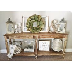 35 awesome entry table ideas to give some inspiration on updating your home or a. 35 awesome entry table ideas to give some inspiration on updating your home or adding personality a Country Decor, Rustic Decor, Farmhouse Decor, Farmhouse Style, Farmhouse Kitchens, Farmhouse Ideas, Farmhouse Furniture, Vintage Decor, Rustic Entryway