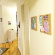 Hung up some new inspirational quotes yesterday because...well...you can never have too many positive vibes.