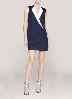 3.1 Philip Lim. tuxedo dress.