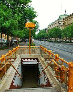 BUDAPEST, ANDRASSY AVE