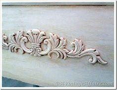 Best applique chic images painted furniture paint bricolage
