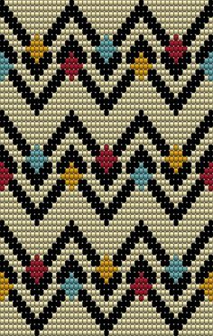 This post was discovered by Ba Tapestry Crochet Patterns, Bead Loom Patterns, Beading Patterns, Embroidery Patterns, Cross Stitch Patterns, Knitting Patterns, Crochet Chart, Bead Crochet, Crochet Stitches