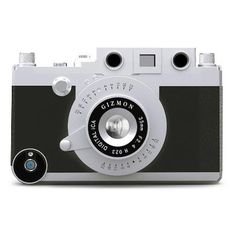 Gizmon iCa iPhone 4 case in Black and Silver