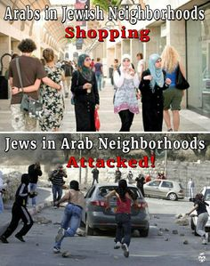 Is Israel Apartheid? See the Muslims living free in Israel...