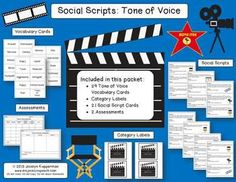 "Social Scripts: Tone of Voice  ""Hands down to you! This product was a blast to use, and everyone had a fantastic time playing a role! Would highly recommend to all who are looking for a FUN interactive tool that is guaranteed to help teach while HAVING A BLAST!""  Get your copy here!"