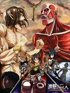 Shingeki no Kyojin Temporada 1  - capitulos actualizados online (en linea) y descarga gratis solo en EX Anime: http://www.exanime.net/