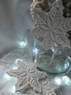 clay decorations for christmas. I can use my easy clay recipe