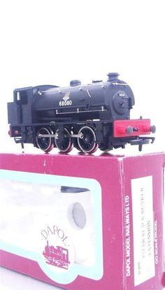 RARE DAPOL D9 D-009 - BR BLACK J94 AUSTERITY SADDLE TANK  with unused EM KIT