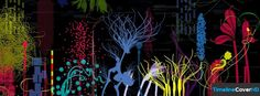 Abstract Plants Timeline Cover 850x315 Facebook Covers - Timeline Cover HD