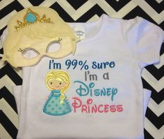 Princess tee & mask set ❄️