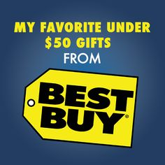 Check out my favorite under $50 gifts at Best Buy!