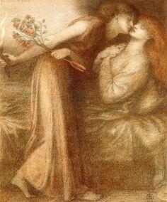Dante Gabriel Rossetti (1828-1882) - Io Sono in Pace, 1875