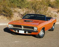 1970 Plymouth Barracuda, It does not matter what color this beautiful car is painted, it looks great!