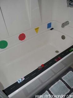 Got a kid who loves Cars?!  Try this fun car-themed bath from @Samantha (Stir the Wonder)  - vroom, vroom!