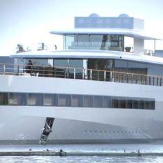 Venus, Steve Jobs' yacht designed by Philippe Starck _