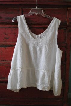 Hey, I found this really awesome Etsy listing at https://www.etsy.com/listing/94086715/breezy-linen-pintuck-tank