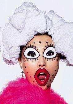 Beauty and the Bling!    V Magazine #83    Summer 2013    Makeup:Peter Philips    Photographer:Richard Burbridge    Hair:James Pecis    Models:Yumi Lambert, Xiao Wen & Sung Hee    #MUAM #MUAMtalk