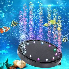 11 inch 63 LEDs Available Submersible Fish Tank Light 42.51 inch /& 9 LEDs AC100-240V Premium Acrylic Underwater Aquarium Lamp for Fish Tank Color Changing Remote Control Aquarium Light