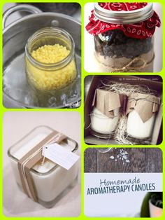 essential oil candle making kits Candle Making For Beginners, Essential Oil Candles, Candle Magic, Aromatherapy Candles, Homemade, Simple, Easy, Desserts, How To Make