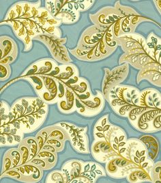 Upholstery Fabric-HGTV HOME Deco Drama Topaz, , hi-res joanns fabrics  not in stores
