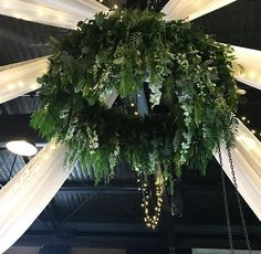 Floral hanging installation made by Forget-me-not Floret. Check out https://www.facebook.com/forgetmenotfloret/