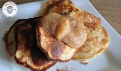 Fitness Dessert.de Protein Pancakes Apfelmus 01 770x460 Protein Pancakes mit Apfelmus und Zimt