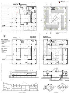 National Museum of Western Art Tokyo drawings plans Exhibition Plan, Museum Exhibition Design, Design Museum, Museum Logo, Museum Poster, Art Museum, Architecture Concept Diagram, Museum Architecture, Architecture Plan