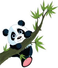 Cute Cartoon Panda | Cute Cartoon Panda Bears Clip Art
