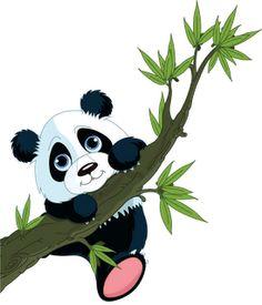 Cute Cartoon Panda | Cute Cartoon Panda Bears Clip Art