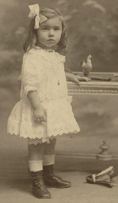 Edwardian little girl
