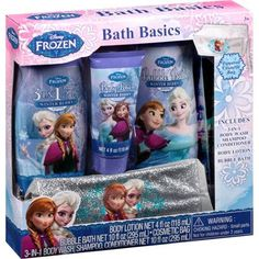 Disney Frozen Bath Basics Set, 4 pc